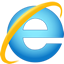 Microsoft Internet Explorer 9 browser logo